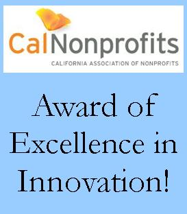 We received the 2013 Award of Excellence in Innovation